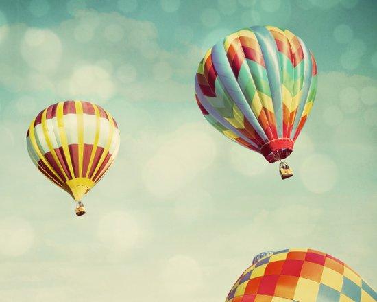 Perfect Dream - Hot Air Balloons Art Print