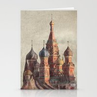 rock Stationery Cards featuring The Snail's Daydream by Eric Fan