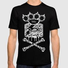 Alternative Rock SMALL Mens Fitted Tee Black