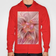 Abstract Butterfly, Fantasy Fractal Hoody