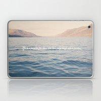 Life Is A Paradise  Laptop & iPad Skin