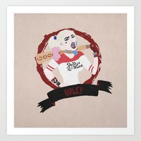 Harley Quinn, Suicide Sq… Art Print