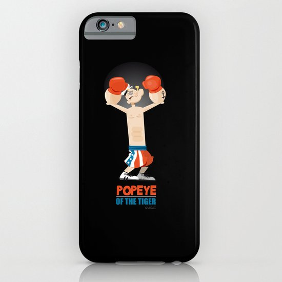 coupling up (accouplés) Popeye of the tiger iPhone & iPod Case