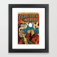 Forbidden Worlds Framed Art Print