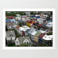 Reykjavik, Sweet. Art Print