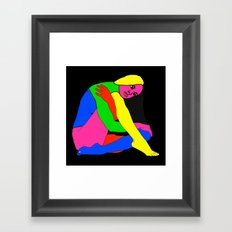 Gymnast Framed Art Print