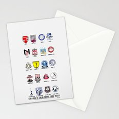 Alternate Football Teams Stationery Cards
