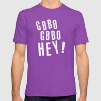 GBBO GBBO HEY Mens Fitted Tee Ultraviolet SMALL