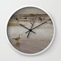Scavenging Wall Clock