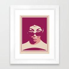 ARETHA Framed Art Print