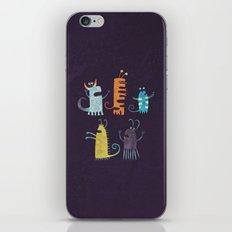 Secretly Vegetarian Monsters iPhone & iPod Skin