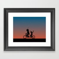 Before They Were Our Ene… Framed Art Print