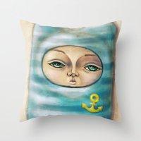 Sea Soul 2 Throw Pillow
