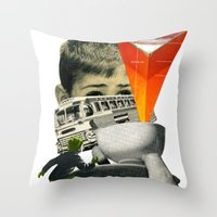 Start The Journey Throw Pillow