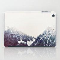 Vintage Snowy Mountain iPad Case
