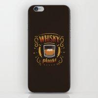 Whisky Please iPhone & iPod Skin
