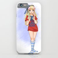 iPhone & iPod Case featuring Alice's Day Off by Brianna