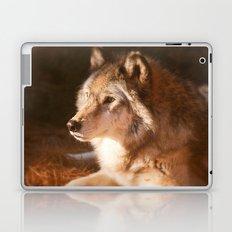 Wolf Beauty Laptop & iPad Skin
