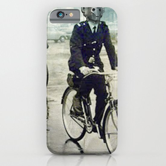 Cybermen on bikes iPhone & iPod Case