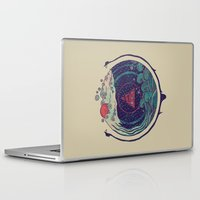 water Laptop & iPad Skins featuring Water by Hector Mansilla