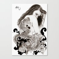 The Dragon's Gate Canvas Print