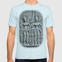 Cambodian Fertility Godd… Mens Fitted Tee Light Blue SMALL