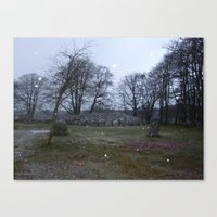 Clava Cairns Canvas Print