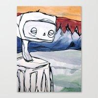 robot Canvas Print