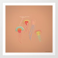 You've Got A Lotta Nerve… Art Print