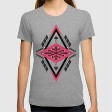:::Space Rug2::: Womens Fitted Tee Tri-Grey SMALL