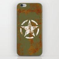 Distressed Star iPhone & iPod Skin