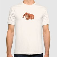 Red Rabbit Ram Mens Fitted Tee Natural SMALL