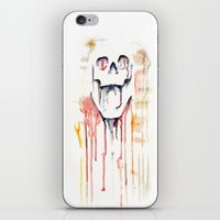 Skull Drips  iPhone & iPod Skin