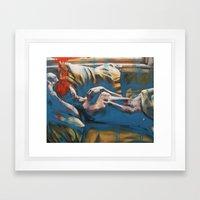 Like A Ghost In A Shell Framed Art Print