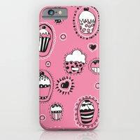 iPhone & iPod Case featuring Cupcakes! by Duru Eksioglu