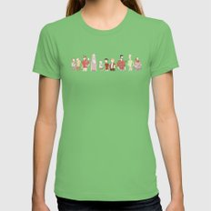 The Broship of the Ring Womens Fitted Tee Grass SMALL