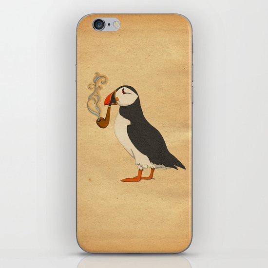 Puffin' iPhone & iPod Skin