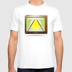 Kaleidoscope TV version A  Mens Fitted Tee SMALL White