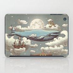 Ocean Meets Sky (original) iPad Case