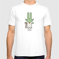 Sr. Trolo / Yoda Mens Fitted Tee White SMALL