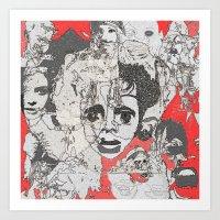 Facetime Art Print