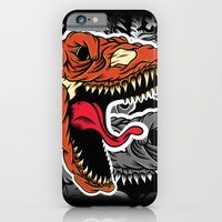 iPhone & iPod Case featuring Dominate by dominantdinosaur