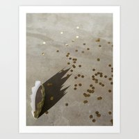 Crown + Confetti Art Print