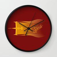 Space Horse (Spikes Hors… Wall Clock