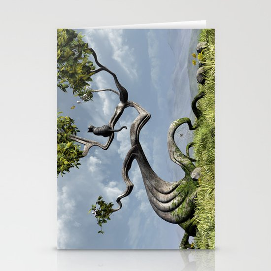 The Sitting Tree Stationery Card