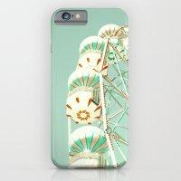Soft Aqua Ferris Wheel  iPhone 6 Slim Case