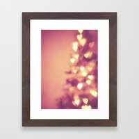 Christmas Love Framed Art Print
