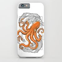 iPhone & iPod Case featuring Hexapus Ink 3 by Hexapus Ink