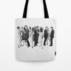 white people Tote Bag