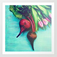 The Beet Goes On - Red B… Art Print